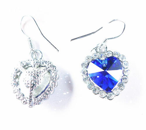 titanic heart of the ocean earring
