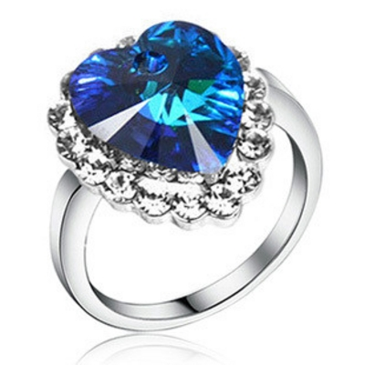 titanic heart of the ocean ring
