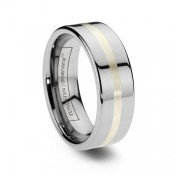 inlay tungsten rings