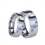 tungsten engagement rings